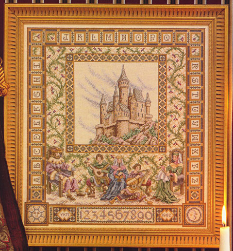 The Castle Sampler Teresa Wentzler